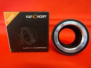 K&F CONCEPT BAGUE ADAPTATRICE NOIR  M42-NIKON 1 POUR MONTURE M42 A CAMERA