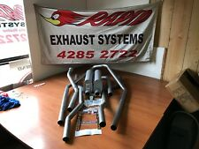 HOLDEN HQ-HJ-HZ-HX WB UTE/ P/VAN 2 INCH DUAL SYSTEM WITH LUKEY MUFFLERS