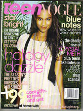 JOY BRYANT Teen Vogue Magazine 12/05 RUMER WILLIS PC