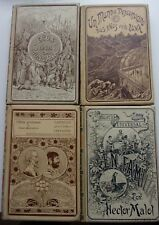 6 ouvrages en espagnol fin XIXe, illustrés