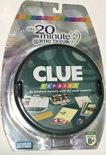 Clue Express Board Game 2007 Travel Game by Parker Brothers New Sealed