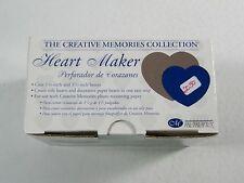 Scrapbook Heart Maker- Paper Puncher- The Creative Memories Collection