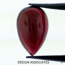 15x10 MM Cabochon Pear Cut Red Garnet