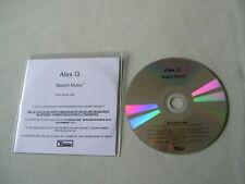 ALEX G. Beach Music promo CD album