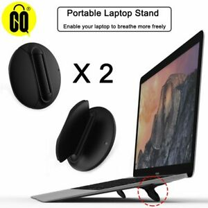 Universal Laptop Holder Black Folding Portable Laptop Stand,Support 7-17 inch No