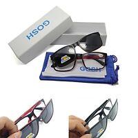 High Quality Retro Magnetic 2 in 1 Reading Glasses & Polarised Sun Readers SR44