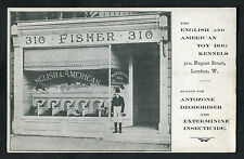 C1910 View: Shopfront: 310 Regent Street London: Toy Dog Kennels