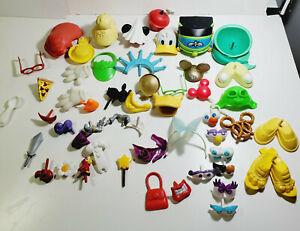Very Used Lot of Mr. Potatoe Head Accessories Disney Themed Ect.