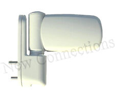 White Triad Adjustable 3D Flag Hinge for Upvc Doors (DHI25)