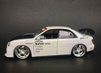 Jada Import Racer Subaru Impreza WRX STi 1:24 Scale Diecast Car 50510-9 HTF READ