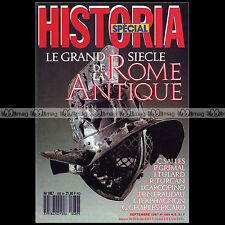 HISTORIA N°489 HS ★ LE GRAND SIECLE DE LA ROME ANTIQUE ★ URBS GALLIEN PAX ROMANA