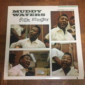 MUDDY WATERS Folk Singer LP VG Chess Records LP 1483 Jazz 1977