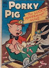 Porky Pig #342 GD 2.0 1951 Dell FC Four Color See my store