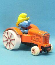 Gärtner Schlumpf im Traktor Ol' Mc Smurf ERTL 1982 USA