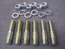 MGB 'B' Series High Tensile Zinc Plated Exhaust/Inlet Manifold Stud Kit (6)