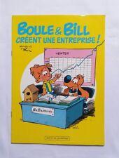 BD - Boule & Bill creent une entreprise / ROBA / EO 1985 / PUB