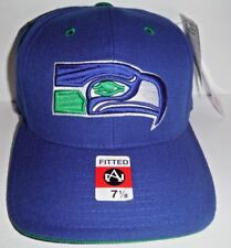 4628e0325 SEATTLE SEAHAWKS NFL ADULT FITTED SIZE 7 1 8 CAP AMERICAN NEEDLE NWT HAT