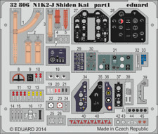 EDUARD 32806 Detail Set S.A. for Hasegawa® Kit N1K2-J Shiden Kai in 1:32