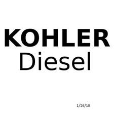 Genuine Kohler Part HEAD FUEL SYS GASKET SET  ED0082051310S