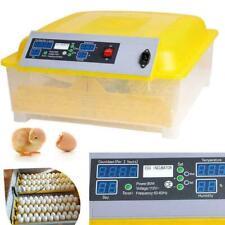 Automatic Digital 7/12/48/56 Egg Incubator Hatcher Turning Temperature E 58