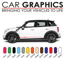 Auto Mini Cooper Graphics decals stickers vinyl design mn10