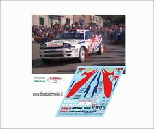 DECALS 1/43 TOYOTA CELICA ST185 ESSO LONGHI RALLY SANREMO 1994