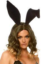 Sexy Bunny Coniglietta Playboy Orecchie Nere Velluto Costumi Travestimenti Donna