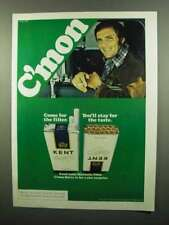 1975 Kent Cigarettes Ad - C'mon Come for the Filter