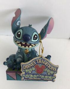 Disney Traditions 'Ohana Means Family' Stitch Figurine (Unboxed)