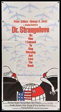 DR STRANGELOVE 1964 3 Sheet Stanley Kubrick Exc. condition filmartgallery DOCTOR