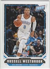 RUSSELL WESTBROOK 2018 Panini National NSCC Silver Pack Base #34 Thunder