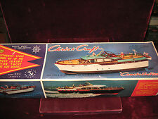 A+ Vtg 57 Chris*Craft 54' Constallation Luxury Motor Yacht Louis Marx Boat Model