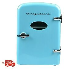 Frigidaire Portable Retro 6-Can Mini Fridge Efmis129, Blue Product Highlights