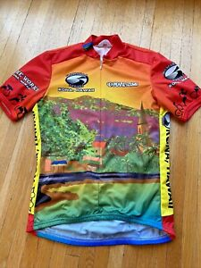Pearl Izumi Hawaiian Pedals Hawaii Bicycle Cycling Jersey, Mens Medium