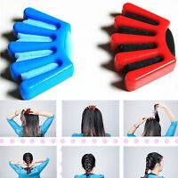 Plait Hair Styler Tool Plaiting Made Easy French Braid Sponge Holder Braider EW