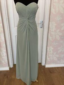Bridesmaid Dress Pistachio Approx Size 12