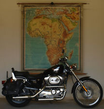 alte Schulwandkarte Afrika Africa 1948 159x175cm vintage school wall map poster