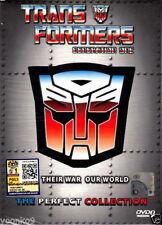 DVD Anime Transformers G1 Complete TV Series 98 End + 1 Movie Season1-4