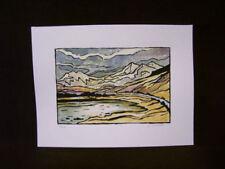 Outsider Art Landscape Original Art Prints