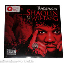 "SEALED & MINT - RAEKWON - SHAOLIN VS WU-TANG - DOUBLE 12"" VINYL LP - RED VINYL"