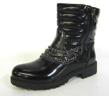 Women's Wet look and Shiny Synthetic Boots