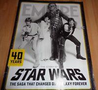 EMPIRE CELEBRATING 40 YEARS THE STORY OF STAR WARS MAGAZINE  £6.99