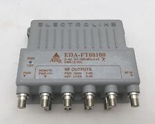 Electroline EDA-FT08100 8-port RF/CATV Cable Distribution  Amplifier & Return