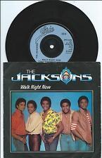 "Jacksons:Walk right now/Your ways:7"" Vinyl Single:UK Hit"