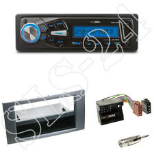 Caliber RMD055 Radio +Ford Fiesta Focus S-Max 1-DIN Blende anthrazit+ISO-Adapter