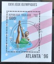 Togo 1996 Michel B392 - Olympische Spelen Atlanta 96 -  gebruikt (0751-1)