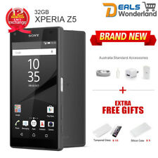 Unlocked Sony Xperia Z5 E6653 4G LTE Smartphone Black 32GB Factory NewSealed Box