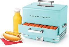 New Listinglarge Hot Dog Steamer Warmer Cooker Machine Bun Food Sausages Electric Vintage