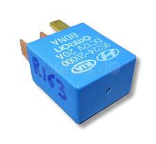 163-Hyundai & Kia (00-16) Multi-Use 4-Pin Blue Relay Omron 95224-2D000 12V 20A
