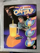 Retro On Tap Light up Optical Illusion beer bottle water faucet - NEW